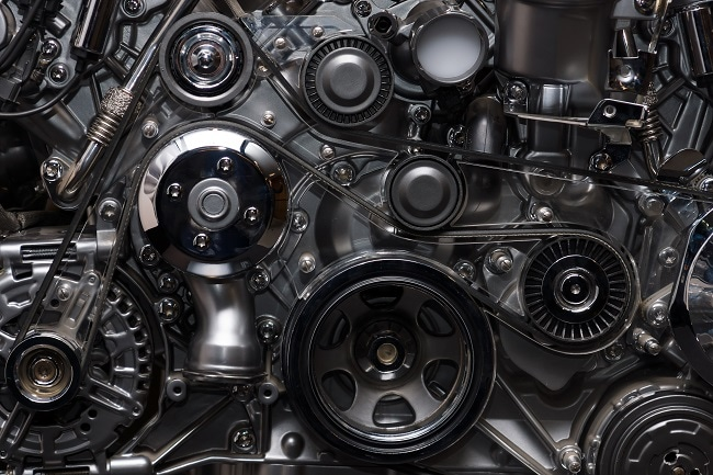 Internal combustion engines often use Polyamideimide (PAI) materials. Image Credit: ShutterStock/Sergey Kohl
