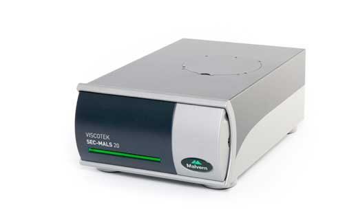 The Viscotek SEC-MALS 20 from Malvern Panalytical.
