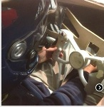 Ogle Models Work with the Bloodhound Project to Create a Functional Model of the Super Sonic Cars Steering Wheel