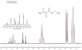 The Spectra of trans-Ethyl Crotonate