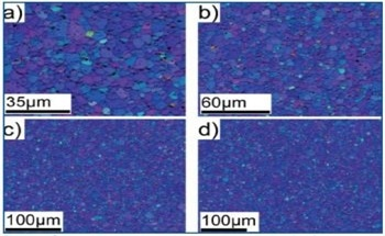 Characterizing the Microstructure of Metal Thin Films for IC Interconnect