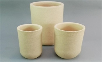 Erosion-Resistant Zirconia Crucibles for Metal Processing