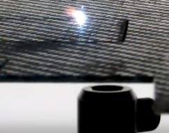 Cutting Carbon Fiber Reinforced Polymer with UV Lasers