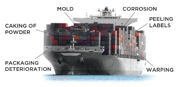 Protecting Shipments from Moisture Damage