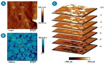 Case Studies of DataCube AFM and Scanning Capacitance Microscopy