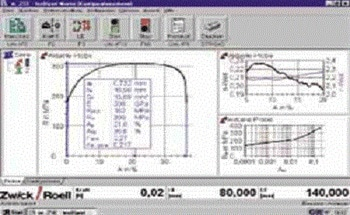 Test Software From Zwick, testXpert Universal Materials Testing Software