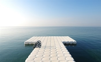Fibreglass Floating Docks for Containment Pits / Ponds