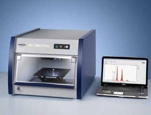 The M1 MISTRAL Compact Tabletop Micro-XRF Spectrometer from Bruker