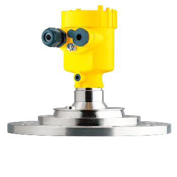 Radar Sensor for Solid Level Measurement in Varying Vessel Heights