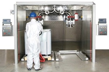 Hosokawa Laminar Flow Booths - Protection from Fumes and Dust