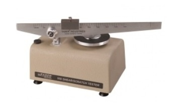 Shear/Scratch Tester from Taber Industries