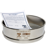 Round Test Sieves from W.S. Tyler