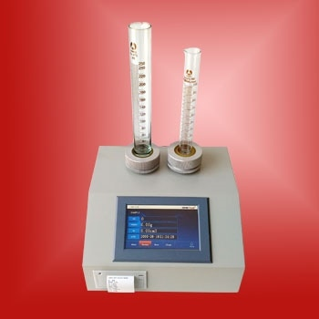 Measuring the Tapped Density of Powders - LABULK 0335 Tap Density Tester