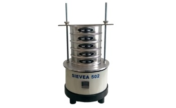 SIEVEA 502: Electromagnetic Vibratory Sieve Shaker for Laboratory Sieving