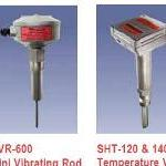 Top and Side Mounted Vibrating Level Sensors