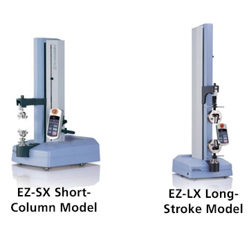 Compact EZ-X Series Tabletop Electromechanical Universal Testers