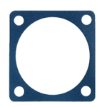 The Silver-Plated Aluminium-Filled Silicone Material B for Static Sealing Applications