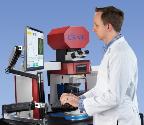 CRAIC Apollo Raman Spectrometer for Quick and Easy Micro-Raman Spectroscopy