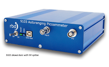 Electron and Ion Current Measurements with the 9103 USB Picoammeter