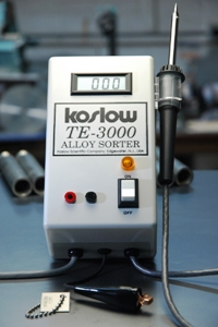 Koslow- ThermoElectric Alloy Sorter - TE-3000