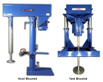Single Shaft Mixer for Dissolving Solid Particles in Liquid - Dispenser by Hockmeyer