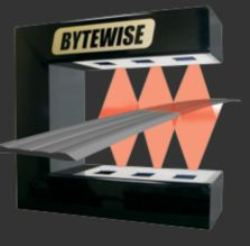 Real time on line profilometer for complex tread and for Bytewise measurement systems