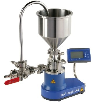 magic LAB – Multi-Functional 'Lab' for Mixing, Wet-Milling, Dispersing and Incorporating Samples