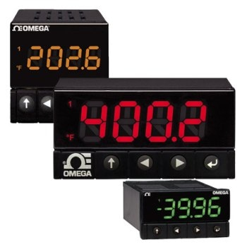 The High Accuracy, Fast Sampling Platinum Digital Panel Meter Series for Temperature and Process Meters