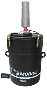 Möbius Recycler Condensing Liquid Nitrogen Cooling System: Requires Refilling Every Other Year