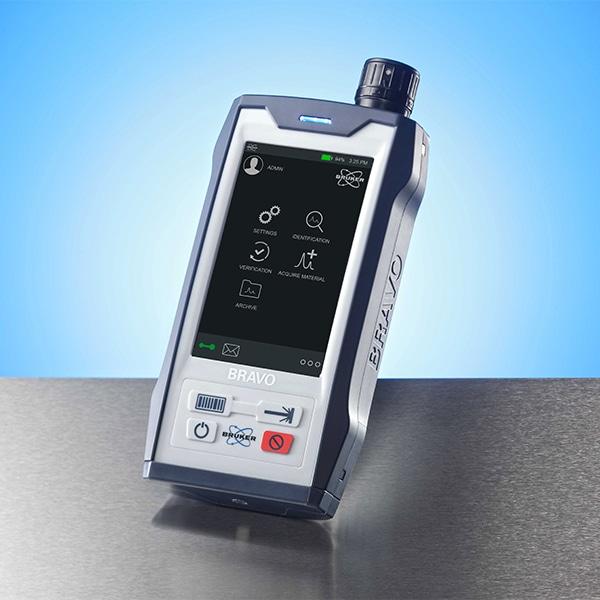 Handheld Raman Spectrometer From Bruker Bravo Quote Rfq Price
