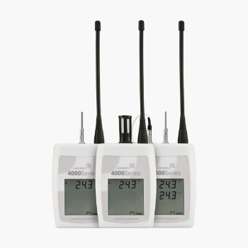Wireless Temperature Monitors with a Range of -200 °C to +100 °C