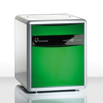 Nitrogen/Protein Analyzer - rapid N exceed®