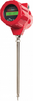 Gas and Air Thermal Insertion Mass Flow Meter - QuadraTherm® 640i
