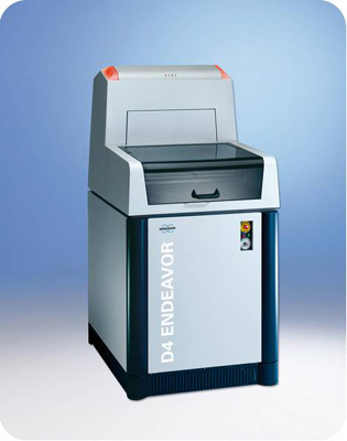 D4 Endeavor High Throughput XRD X-Ray Diffractometer from Bruker