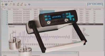 Ultrasonic Test Equipment For Concrete Analysis Pundit