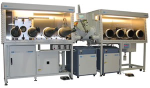 Thin Film Deposition (TFD) Evaporator Systems from MBraun Incorporated