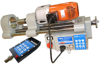 4-14 ET (Electric Touch) Portable Line-Boring Machine from York Portable Machine Tools