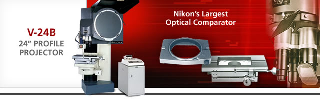 V-24B High-Precision Optical Comparator from Nikon Instruments