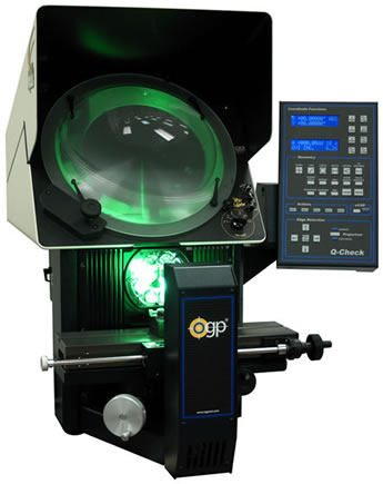 "Focus Lite 14"" Horizontal Optical Comparator from Optical Gaging Products"