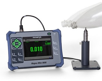 The MagnaMike 8600 Portable Thickness Gage from Olympus