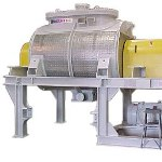 Horizontal Paste Mixer for Efficient Handling of Viscous Materials