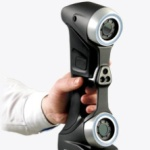 Portable Metrology-Grade 3D Scanner HandySCAN 3D