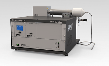 HPR-20 EGA: Compact Bench-Top Gas Analysis System for Evolved Gas Analysis in TGA-MS from Hiden Analytical