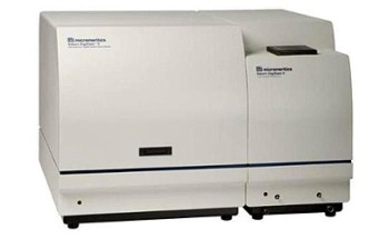 The Saturn Digisizer II Particle Size Analyzer from Micromeritics