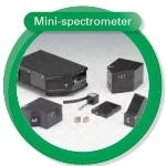 Mini Spectrometers – Integrated Sensor, Circuit and Optical Elements in a Compact Case