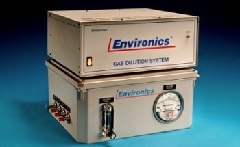 Gas Dilution System for Explosive Gas Mixing/Dilution Applications