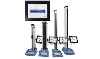 Touch-Screen Controlled Test Systems for Routine Materials Testing - MultiTest-xt