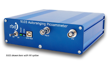 Measure Bi-Polar DC Current: 9103 USB Picoammeter