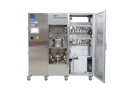 The Micromeritics Multi Reactor (MR) Series Features 4 or 8 Independent, Parallel Lab Reactors in One Unit to Speed up Catalyst Research