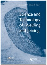 Science and Technology of Welding and Joining - Maney
